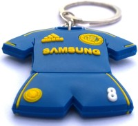 AA Retail Chelsea FC Jersey Double Side Silicone Keychain (Blue, Yellow)
