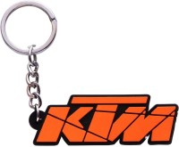 Accessory Bazar Abzr Ktm Bike Rubber Key Chain (Orange)