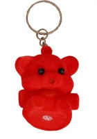 Indigo Creatives Valentine Cute Puppy Squeky Squeezy Key Chain (Multicolor)