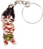 Lehar Toys Acrylic Bal Hanuman Key Chain Locking (Multi Color)