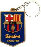 Techpro Doublesided Barcelona Logo Key Chain (Multi Color)