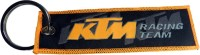 Techpro KTM Bike Cloth Key Chain (Multi Color)