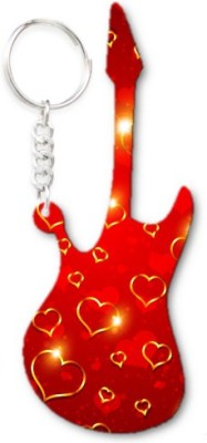 Lolprint 229 Pattern Guitar Key Chain
