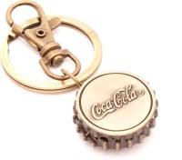 VeeVi Classy Coca Cola Pocket Watch Keychain Locking (Multicolor)