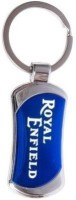 Ezone Full Metal Bike Royal Enfield Key Chain (Blue)