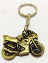 Hiyaa Sports Bike Metal Key Chain - Gold
