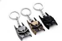 Chainz Pack Of 3 Metal Batman Mask (Black, Silver, Golden)