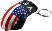 Zobello American Boxing Gloves Key Chain (Multicolor)