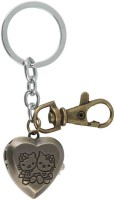 Kairos Designer Hello Kitty Open Pocket Watch Clock Keychain (Brown)