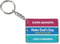 Tiedribbons Gift For Father's Day_Special Dad_19 Key Chain (Multicolored)