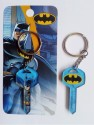 Warner Bros Batman Key Acrylic Key Chain - Multicolor