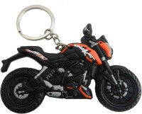 Techpro Double Sided KTM Duke Key Chain (Multi Color)