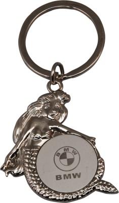 Oyedeal Little Mermaid BMW Key Chain Silver