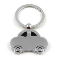 Chainz Car Shaped Metal Keychain (Silver)