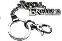 Ezone Royal-Enfield-Hook-Locking-Keychain Locking (Silver)