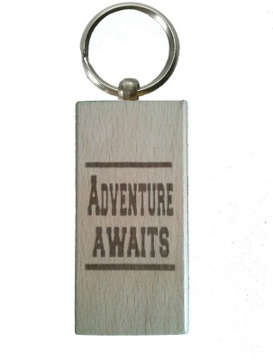 Cult Classics Adventure Keychain (Brown)