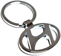 CTW Hyundai Logo Premium Quality Metal Car Key Chain (Multicolor)