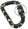 GoGifts Army Design Carabiner-BRN Locking Key Chain - Multicolor