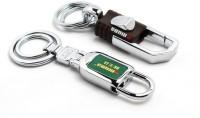 SRPC Omuda Locking Metal Hook Keychain (Brown, Green)
