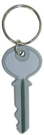 Bombay Merch Key Rubber Key Chain - Grey, White