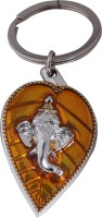 Oyedeal Kycn618 Leaf Ganesha Key Chain (Multicolor)