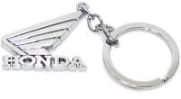 24X7SHOP Honda Bike Full Metal Imported Key Chain (Silver)
