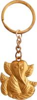 Oyedeal KYCN817 Lord Ganesha Full Metal Key Chain (Gold)