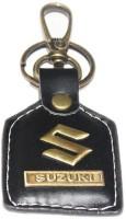 24x7SHOP Trendy Leather & Metal Maruti Suzuki Key Chain (Multicolor)