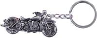 CTW Royal Enfield Bullet Bike Full Metal Key Chain (Silver)