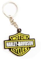 Bikenwear Keyring Keychain (Yellow, Black)