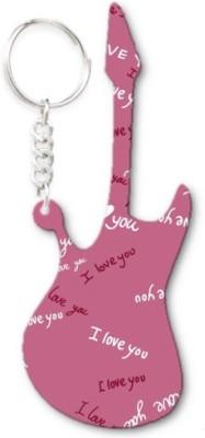Lolprint 140 Pattern Guitar Key Chain