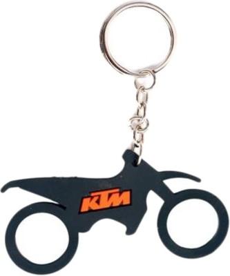 Confident Top Speed Riders Ktm Bike Keychain (Multi)