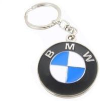 Ezone Stylic Full Metal BMW Motorsports Metallic Key Chain (Multicolor)
