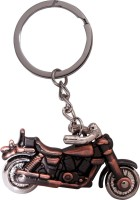 CTW Copper Royal Enfield Bullet Bike Premium Quality Metalic Key Chain (Copper)