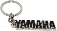 AURA Yamaha Bike Imported Metal Key Chain (Black, Silver)