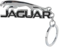 Kairos Premium Jaguar Style Metallic Keychain(Black) (Silver)