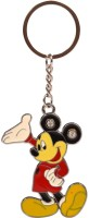 Azure Mikki Mouse With Multi Colour Locking Carabiner (Multi Colour , Red, Black And Yelow)