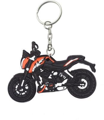 Confident DUKE Sports Bike Keychain (MULTI)