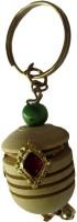 DCS Wooden Mataka Keychain Locking (Multicolor)