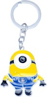 CTW One Eye Minion Keychain (Yellow)