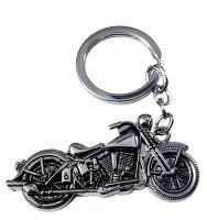 FCS Metal Bike Key Chain (Silver)
