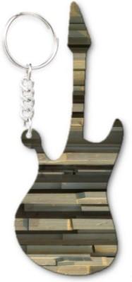 Lolprint 64 Pattern Guitar Key Chain