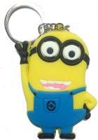 Crazytowear Despicable I Am In The Air Minions Keychain (Yellow)
