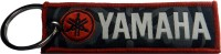 Techpro Yamaha Bike Cloth Key Chain (Multi Color)