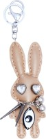 Super Drool Beige Bunny Key Chain (Beige)