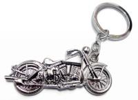 Aditya Traders FULL METAL BULLET KEYCHAIN Key Chain (Silver)
