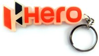 Techpro Singlesided Hero Transparent Key Chain (Multi Color)