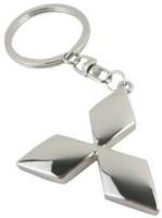 Easy4buy Mitsubishi Car,Bike,Bag Locking Spring Gate Key Chain (Silver)