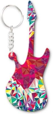 Lolprint 259 Pattern Guitar Key Chain