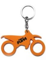 Oyedeal KTM Bike Shape Key Chain (Multicolor)